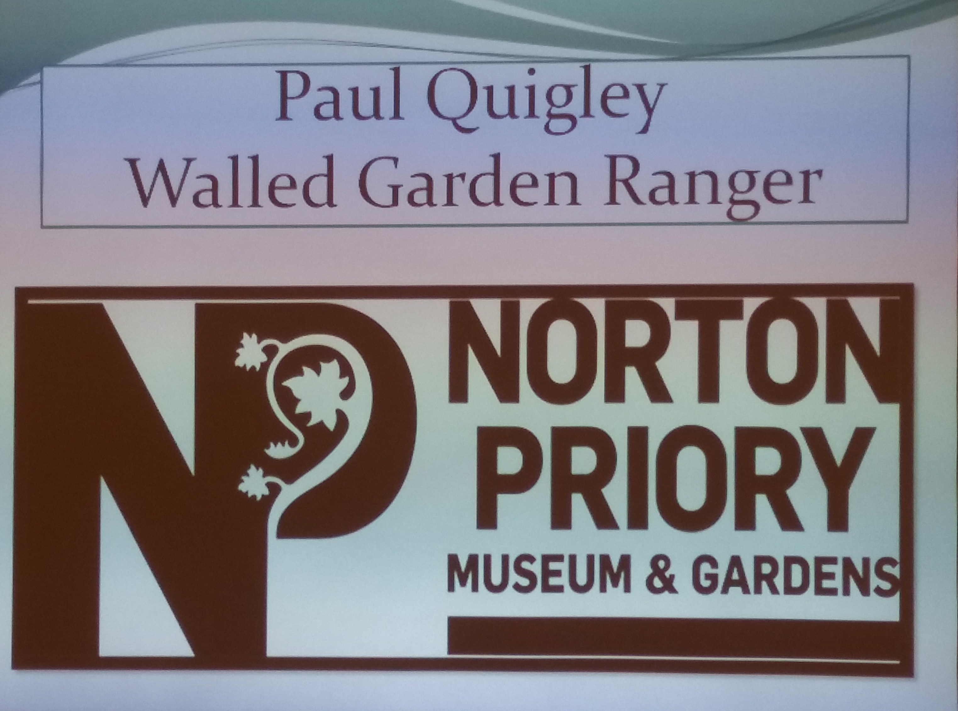 Norton Priory Presentation