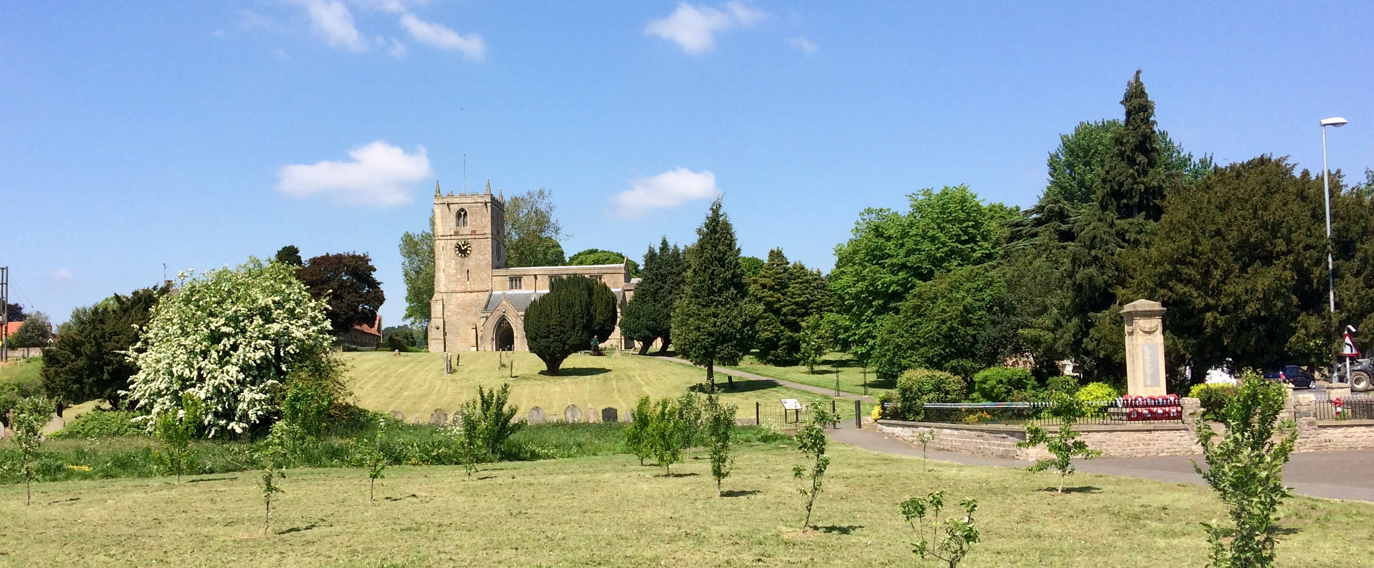 Warsop Church from The Carrs