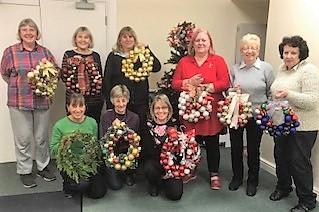 Craft Group Christmas meeting