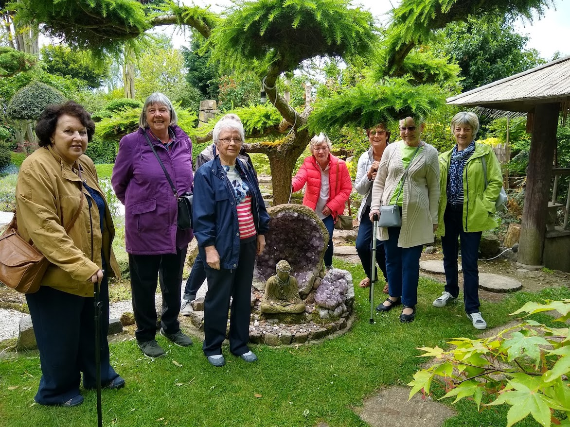 Visit to the Japanese Garden