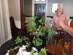 Plant swap at the Plough