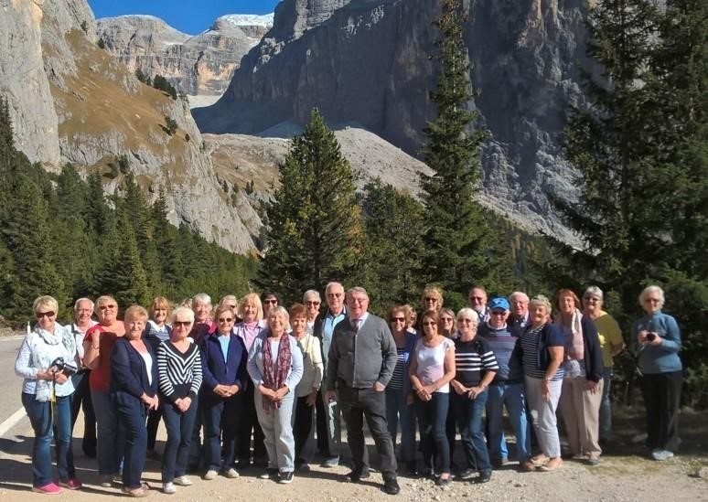 The Exploring Europe Group's trip