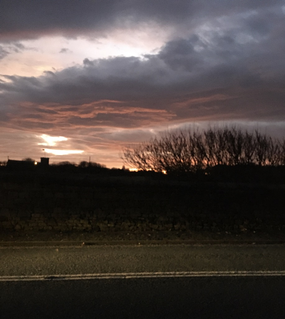 Sunset near Seaham by Marilyn - Jan 2020