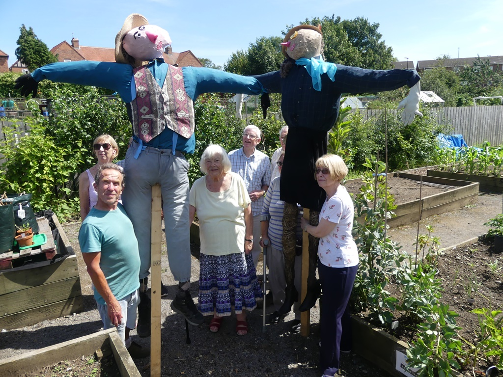 Scarecrows for the Wild Patch