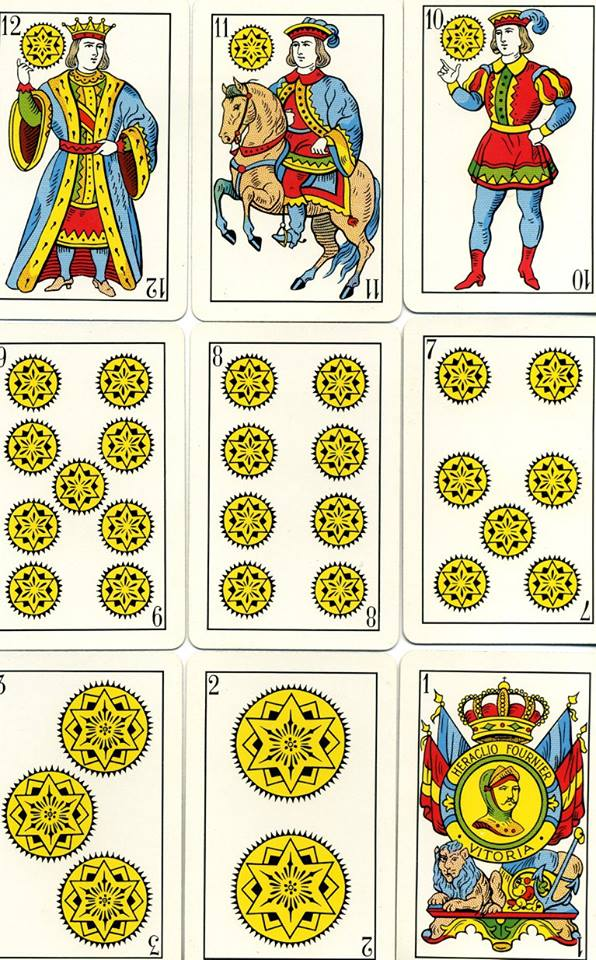 Spanish cards (Coins)