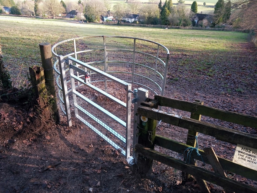Gate donated by Walking Group
