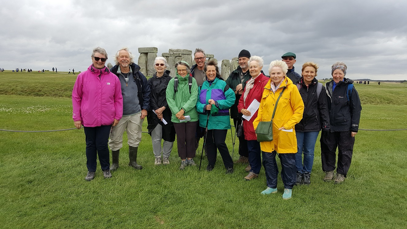 Stonehenge trip with Julian Richards