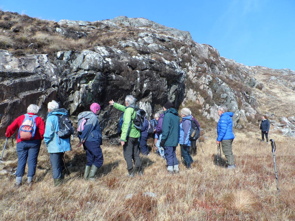 The group at Achtercairn