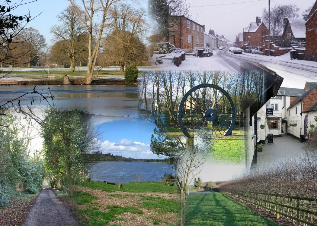 West Leicestershire in Winter