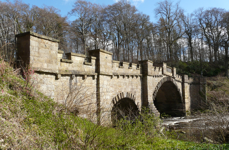 Nasmyth Bridge, Almondell
