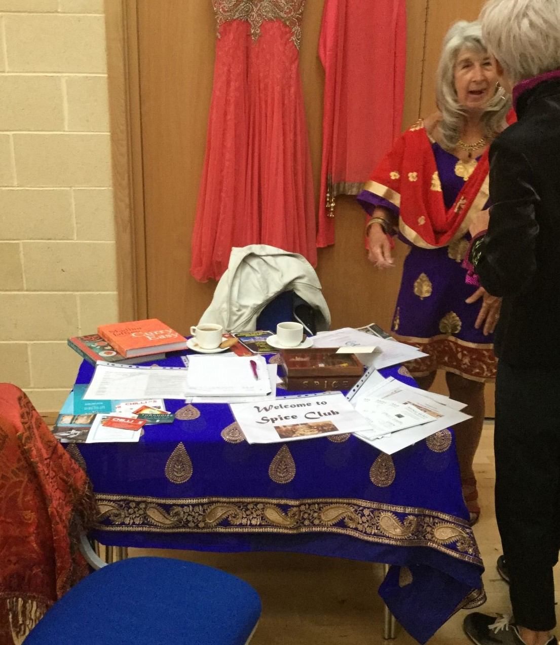 At our Table Fair July 2019