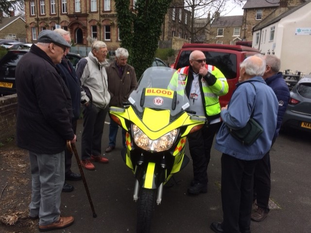 Northumbria blood bikes visited April 19