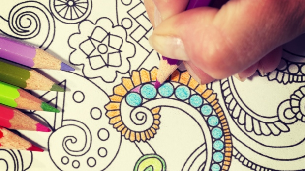 Colouring, Coffee & Chat