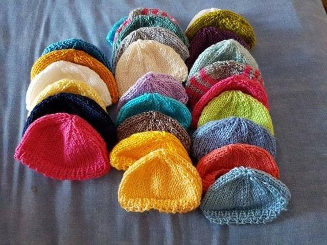 Woolly hats for charity