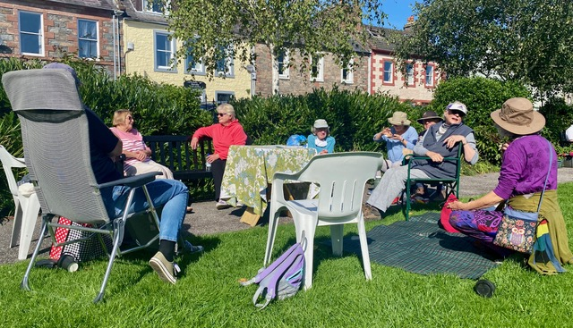 Wigtown picnic