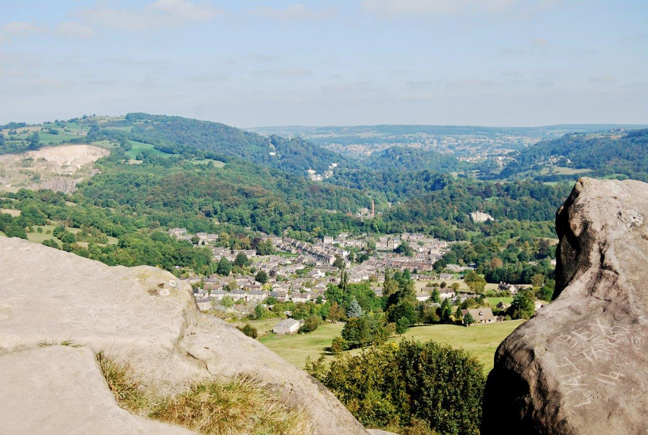 Cromford from Black Rocks