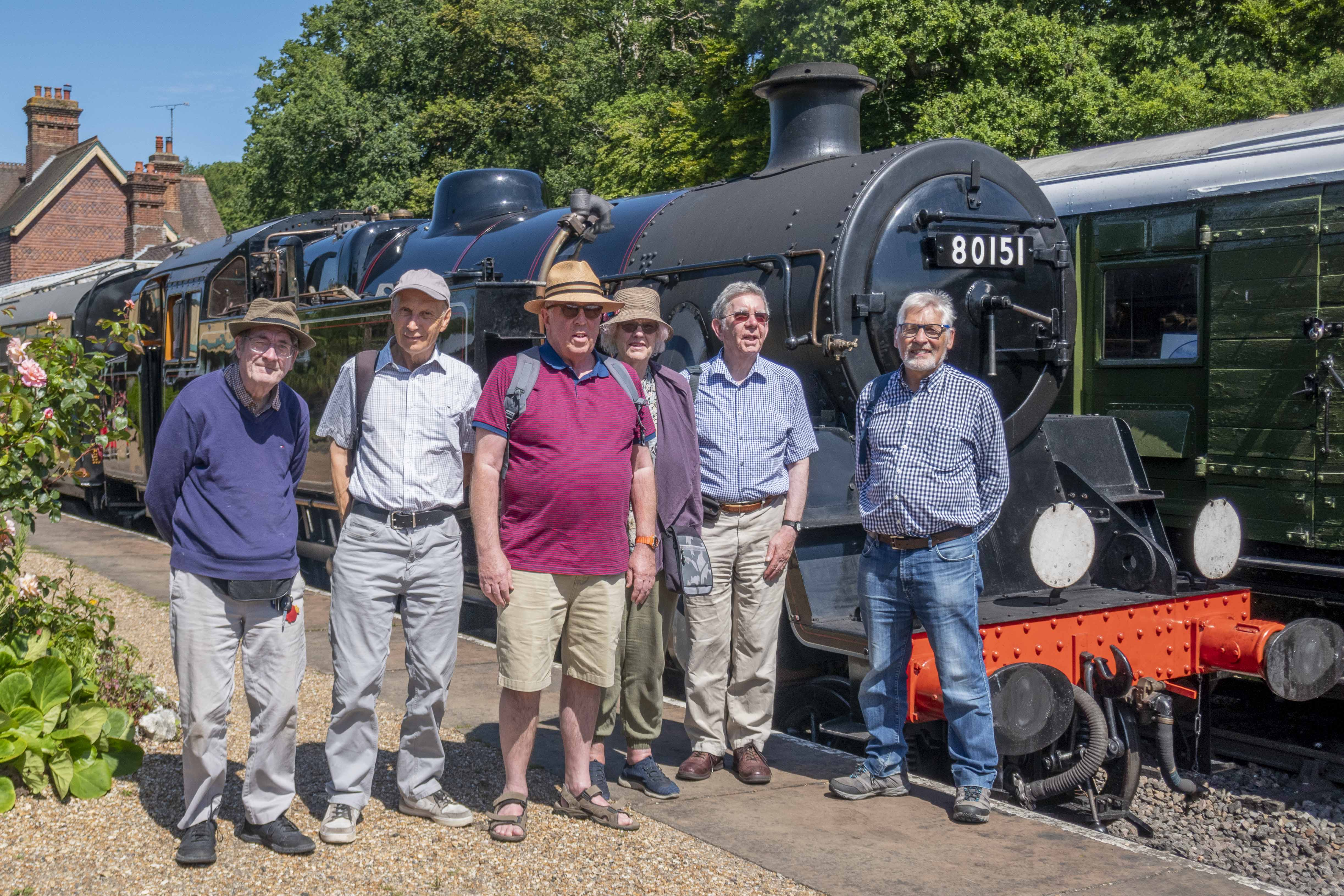 Railway Group Visit to the Bluebell Line
