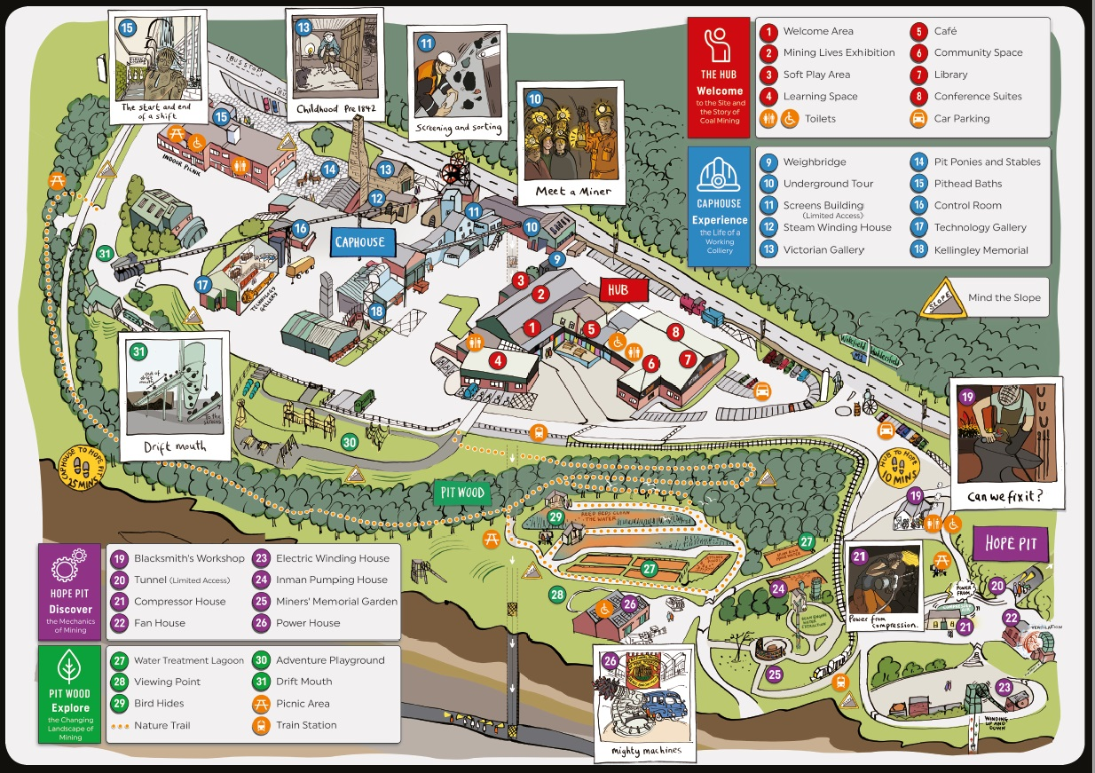 map of our Visit