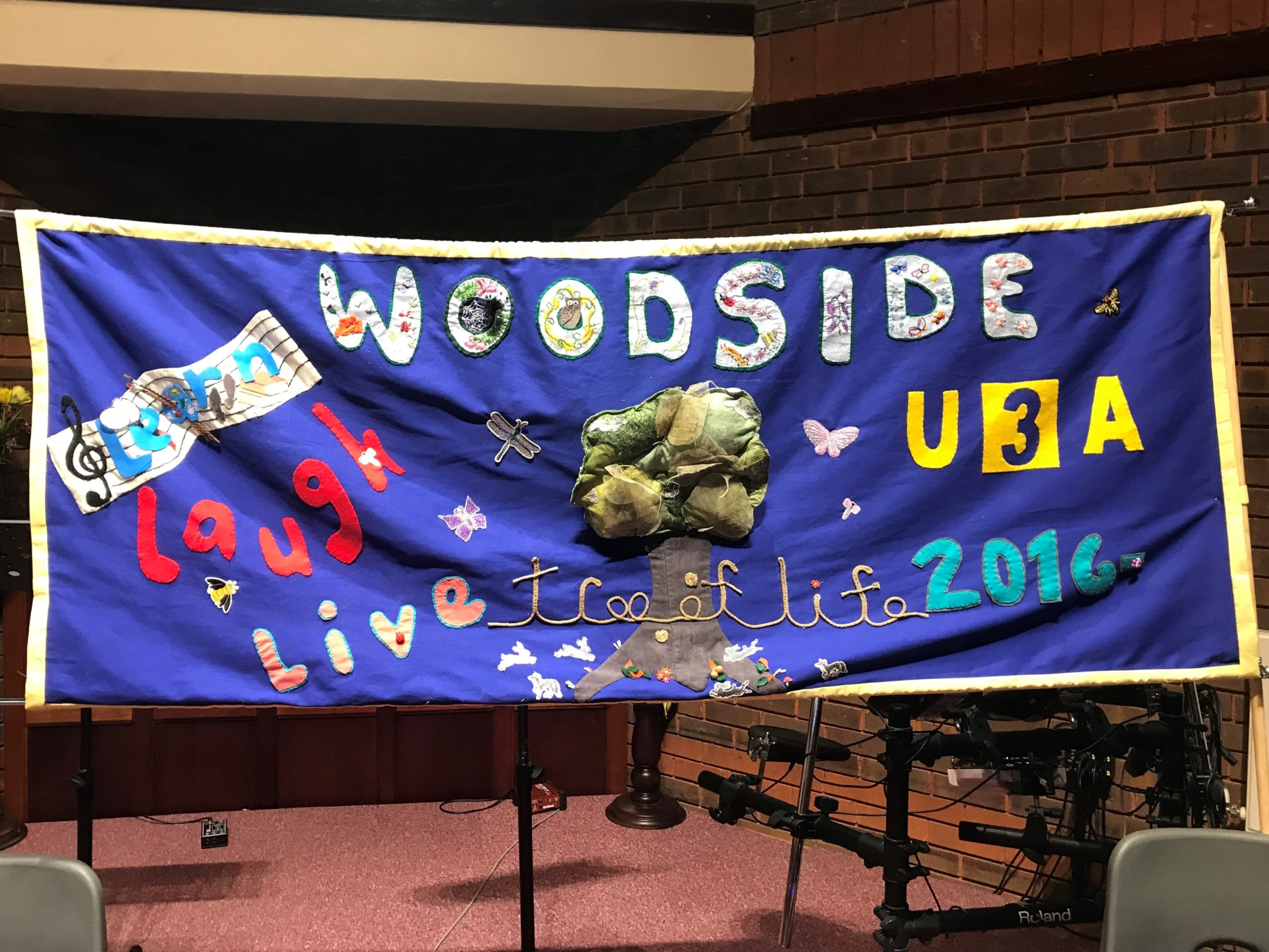 New Woodside Banner