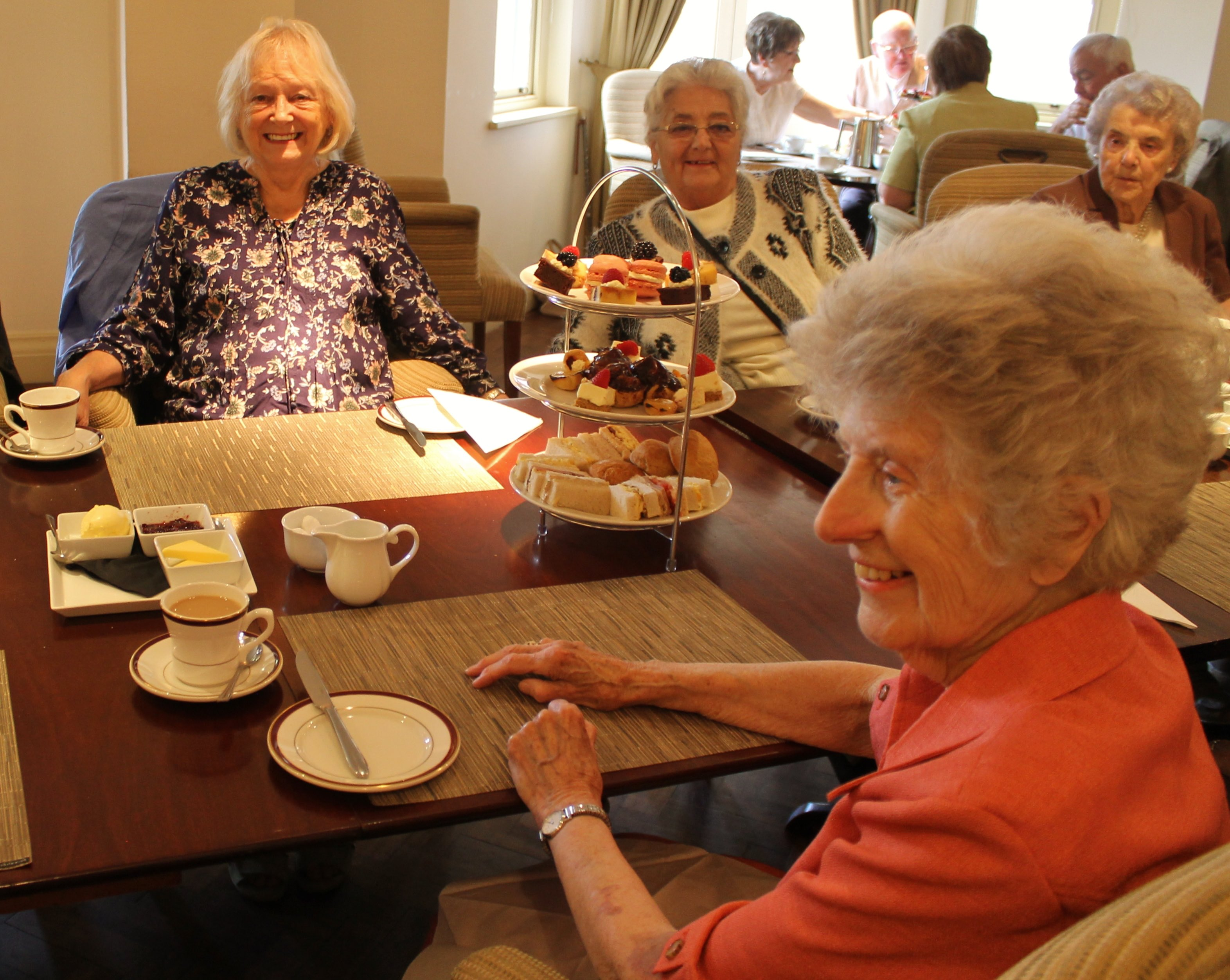 The afternoon tea at Cornhill