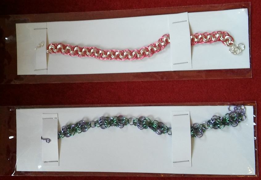 Examples of Chainmaille