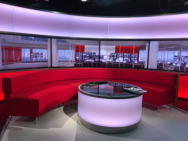 BBC Studio on Travel Group Visit