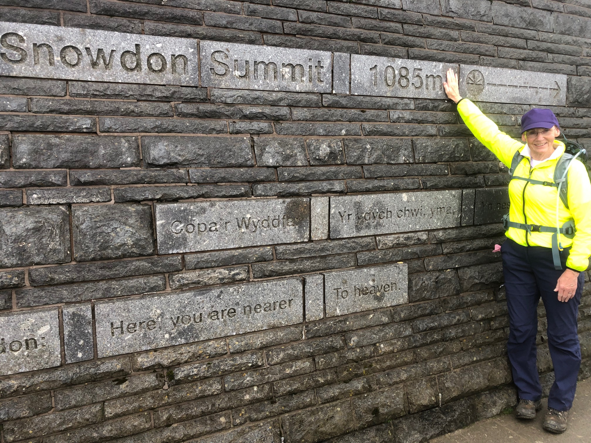I did it!! At the top of Snowden
