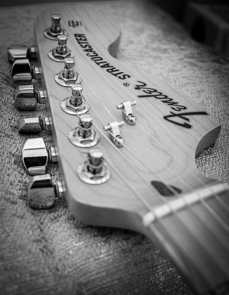 Strat Guitar by Dave Scaife