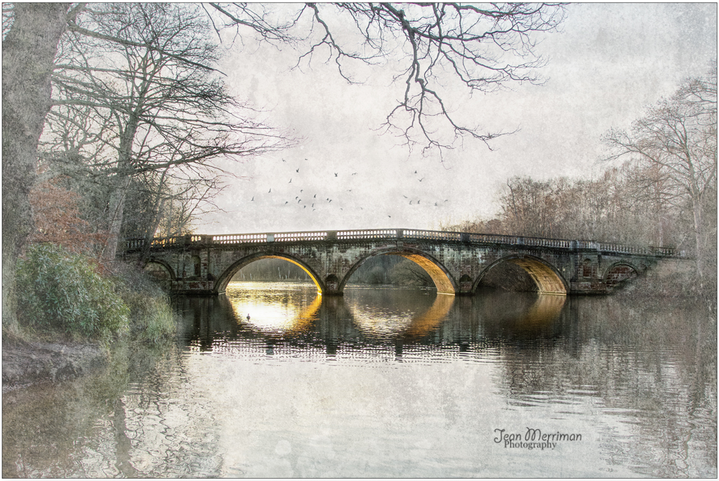 Clumber Bridge by Jean Merriman