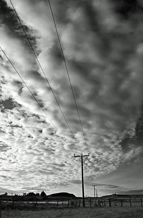 Telegraph Sky by Mike Painter