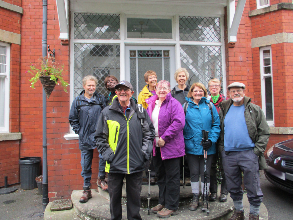 Walking Group Shropshire Holiday 2018