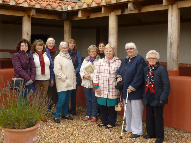 Latin Group at Wroxeter Oct 23rd 2015