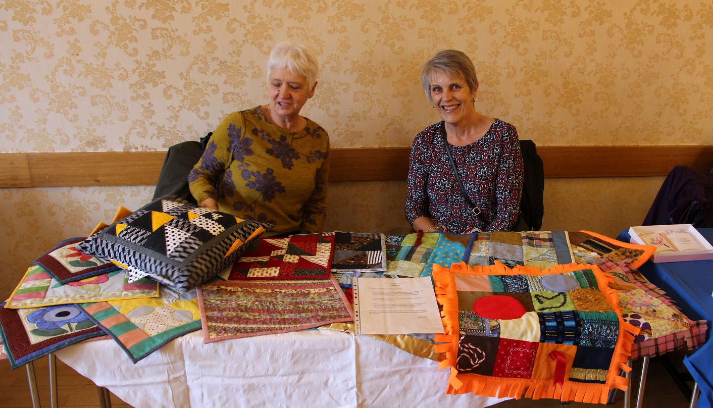 Quilting Group at Fashion Show
