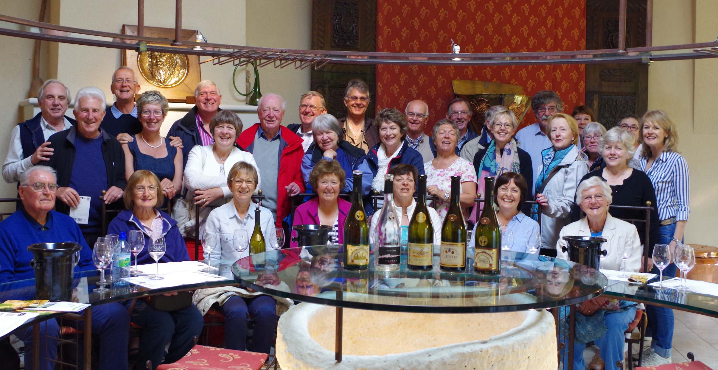 Wine Appreciation Group in France