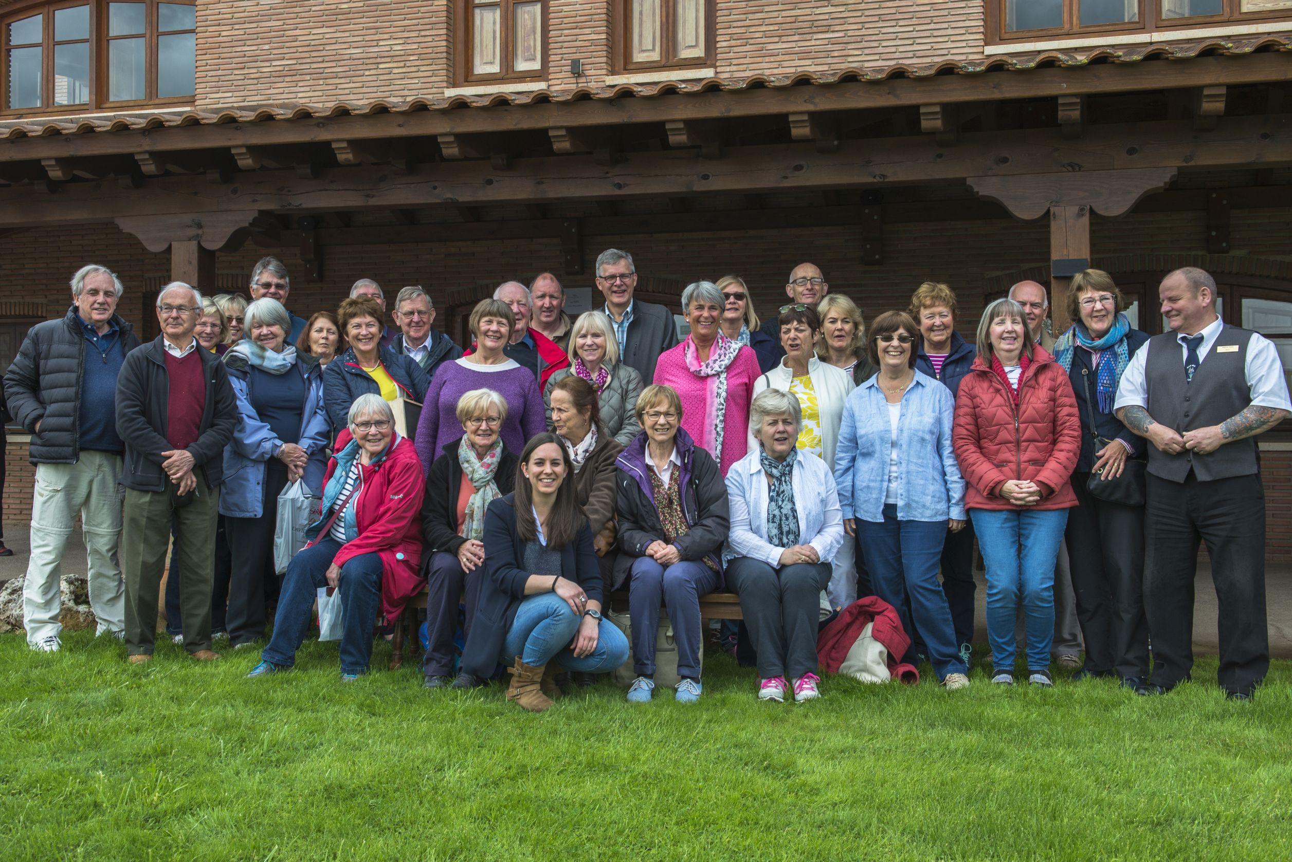 Wine Appreciation Group in Rioja 2017