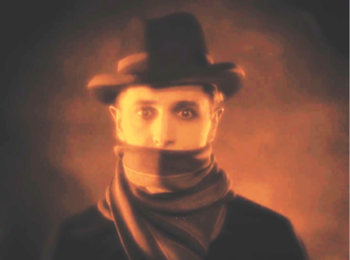 IVOR NOVELLO IN HITCHCOCK'S The Lodger