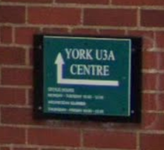 Sign at entrance on Clifford Street